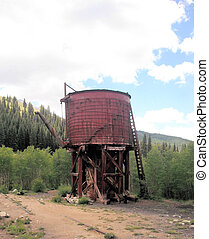 Historic Leadville, CO Water Tower - Water Tower in...