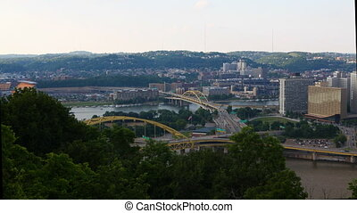 Motion controlled timelapse Pittsburgh, Pennsylvania - A...