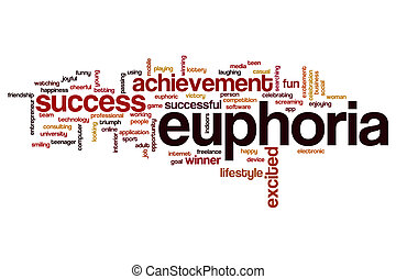 Euphoria word cloud concept