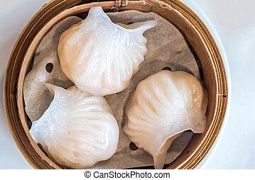 dim sum Hagao - Chinese dim sum Hagao - Steamed Chinese...