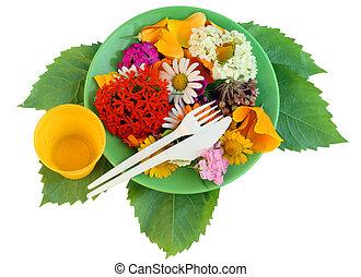 Flower diet