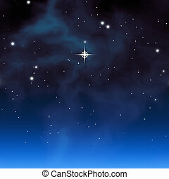 christmas star - An image of a beautiful christmas star...