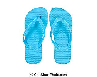 blue Sandals or flip flops - Sandals or flip flops