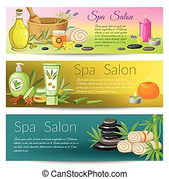 Spa Salon Banners Collection