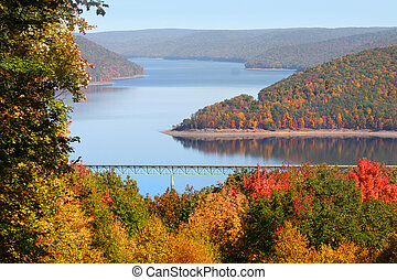 Allegheny national forest - Fall foliage in Allegheny...