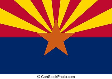 Arizona Flag - Flag.