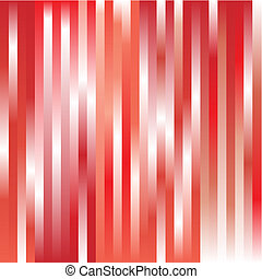 Structure from gradients of a red shade. A vector illustration