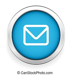 Email icon - web contact icon design element
