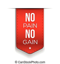 No Pain No Gain - workout and Fitness Motivation Quote