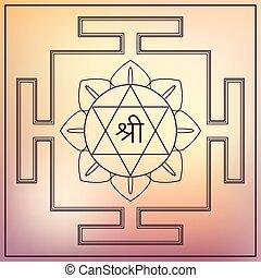 Yantra Goddess Lakshmi. - Yantra Hindu Goddess Lakshmi....
