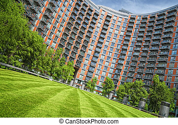 Apartment Building. - New Apartments Building in...