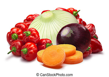 Ingredients for Belizian sauce, paths - Ingredients for...