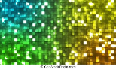 Broadcast Twinkling Firey Light Squares 05 - Thank you for...