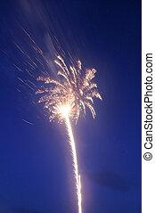 Celebration Fireworks - A display of fireworks.