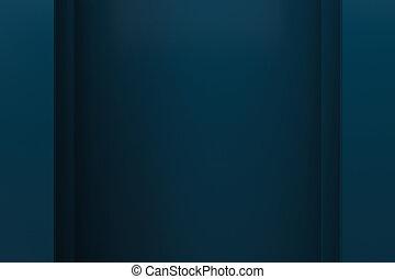 blue layer background 3d render