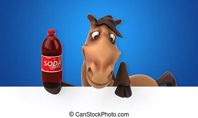 Fun horse - 3D Animation