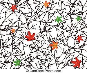Twigs Vector