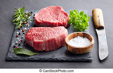 Beef with spices