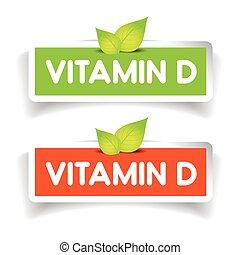 Vitamin D label vector set