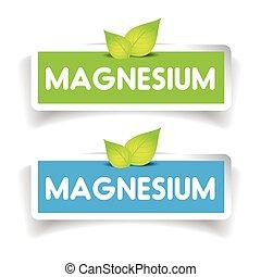 Magnesium label vector set