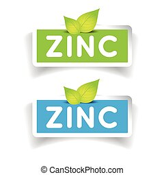 Zinc label vector set