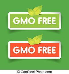 GMO free label vector set