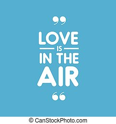 Love us in the air letteging