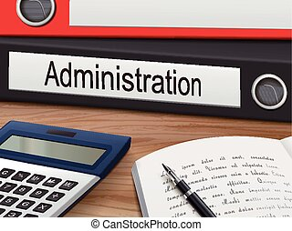 administration on binders