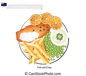 Fish and Chips, A Popular Dish of New Zealand
