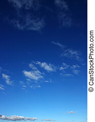 white clouds - background of blue sky and white clouds