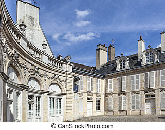 Palace of Dukes of Burgundy Palais des ducs de Bourgogne in...