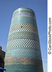 Kalta Minor Minaret in Khiva, Uzbekistan - Kalta Minor -...