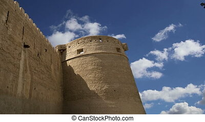 Old Fort. Dubai, UAE - Old Fort. Dubai, United Arab Emirates...