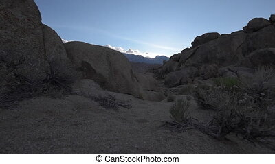Alabama Hills California Raw - Rock Formations of Alabama...