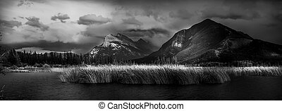 Vermilion Lakes Evening - Early fall evening in the Canadian...