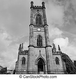 St Luke church in Liverpool - The St Luke church in...