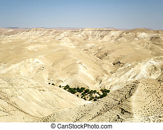 Barren Hills - The barren hills of Wadi Qelt