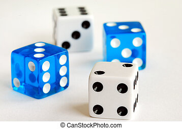 Gambling with dices