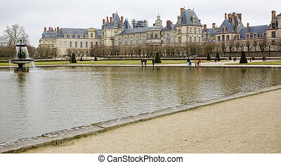 Palace Fontainebleau, le-de-France, France