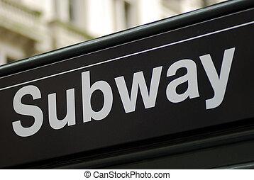 新, 城市, 約克, 地鐵, 簽署