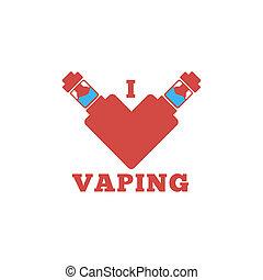 電子, 紋章, タバコ