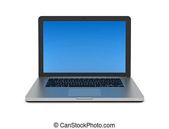 laptop computer concept 3d illustration