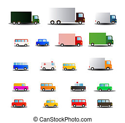 all kind of transportations vehicle - illustration of all...