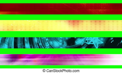 Lower third Thirty GBS - Abstract looping Lower Thirds, use...