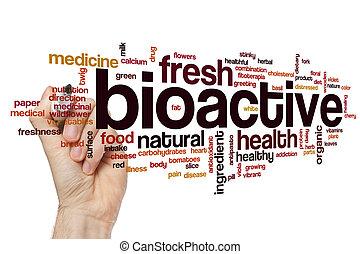 Bioactive word cloud