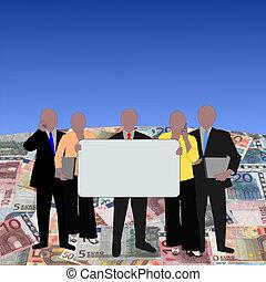 European team on euros