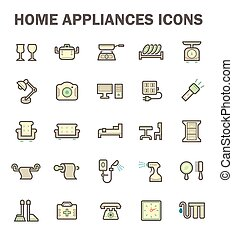 Home appliance icon - Home appliance vector icon set.