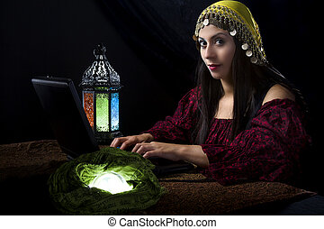 Fortune Teller with Online Business or Website - Fortune...