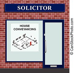 Solicitor House Conveyancing - Solicitors premises...