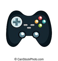 control player videogame with navigation buttons and...